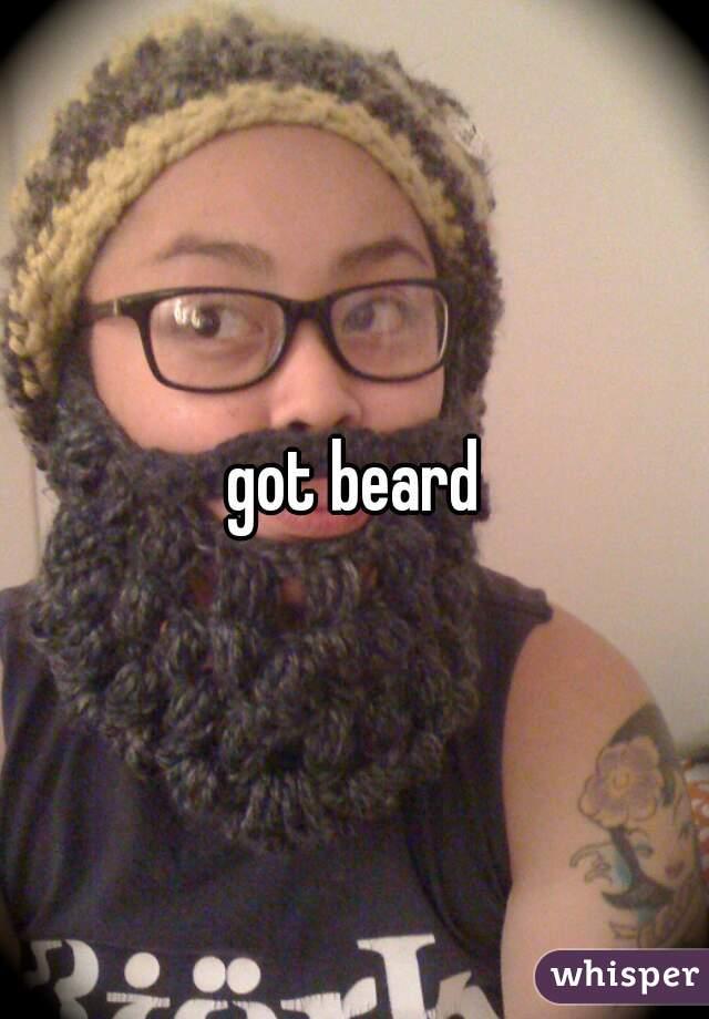 got beard