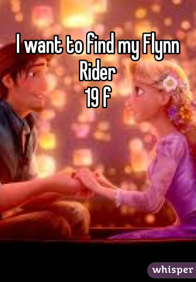 I want to find my Flynn Rider 19 f
