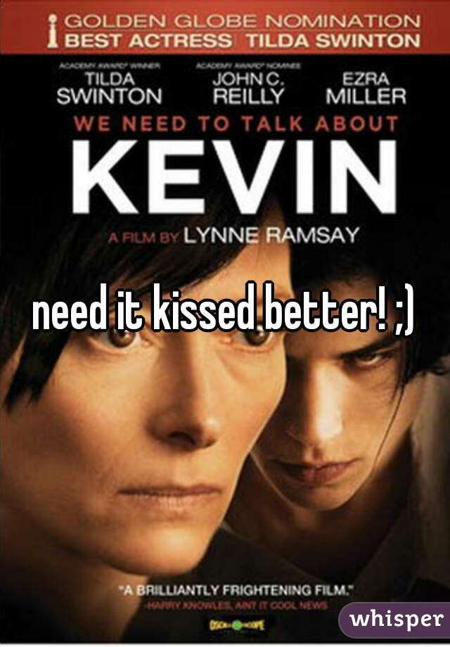 need it kissed better! ;)
