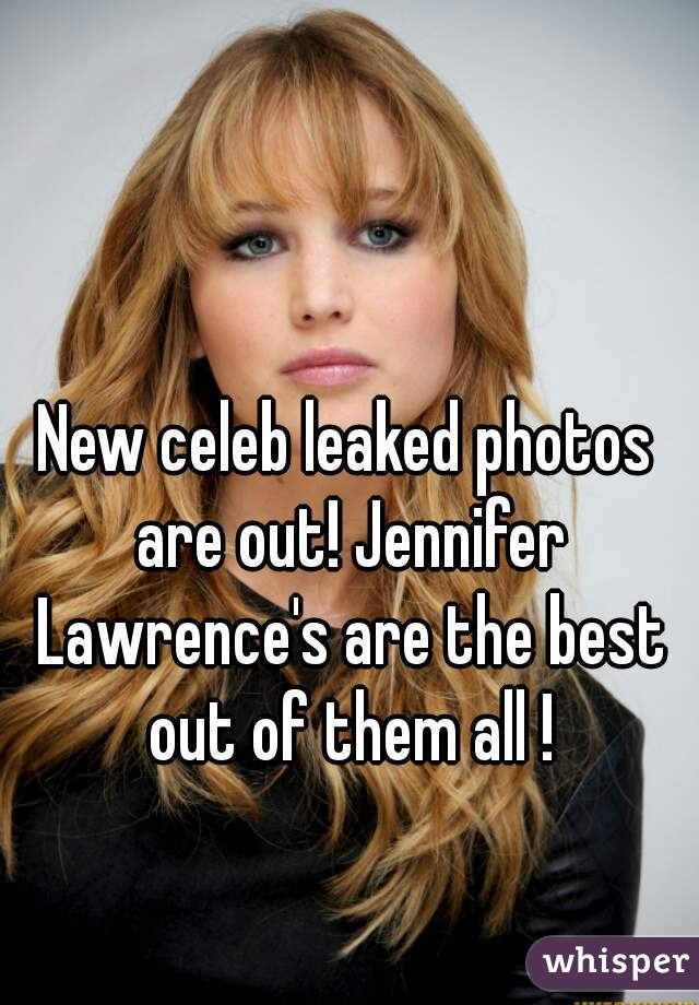 New celeb leaked photos are out! Jennifer Lawrence's are the best out of them all !