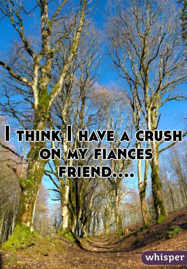 I think I have a crush on my fiances friend....