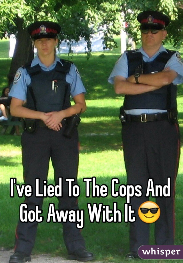 I've Lied To The Cops And Got Away With It😎