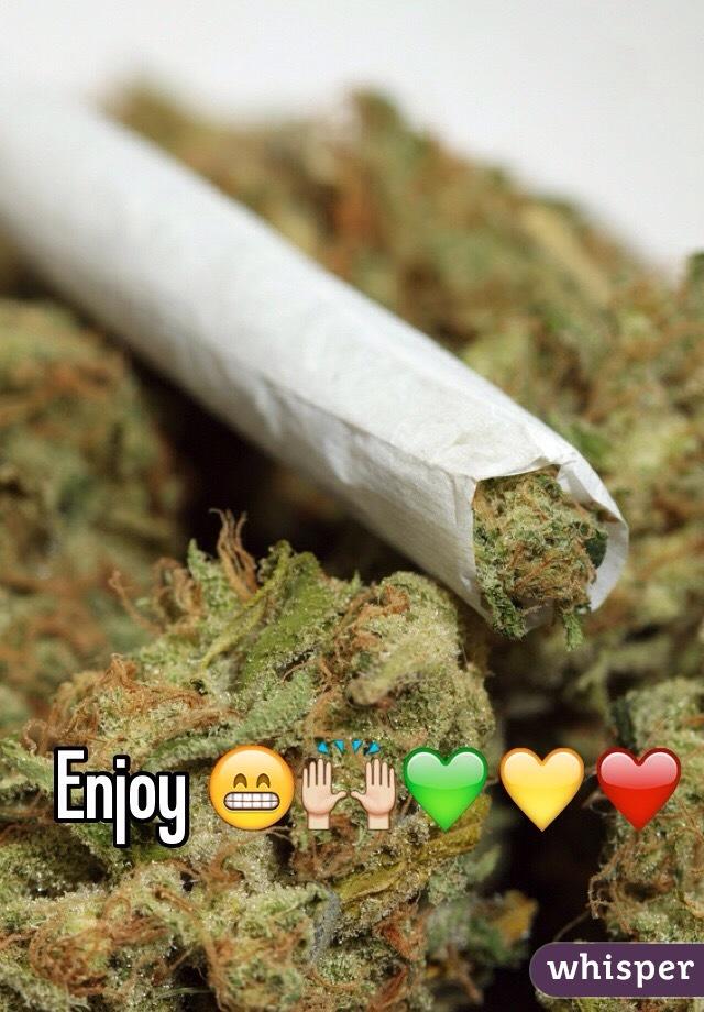 Enjoy 😁🙌💚💛❤️