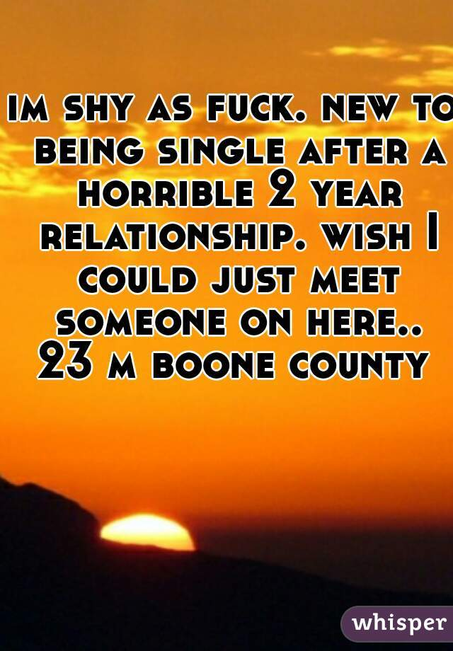fuck being single