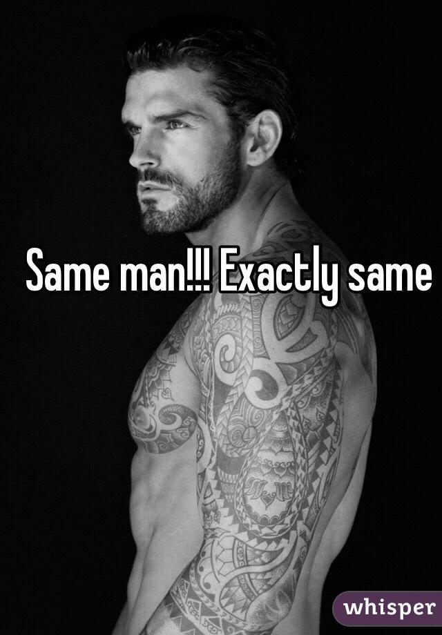 Same man!!! Exactly same