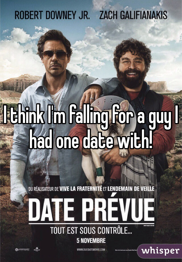 I think I'm falling for a guy I had one date with!