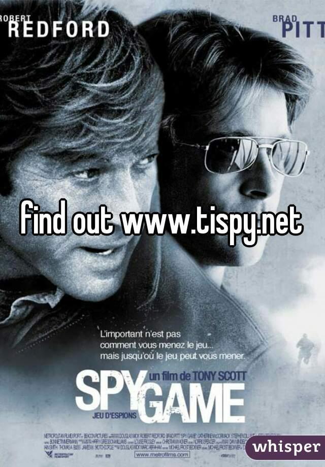 find out www.tispy.net