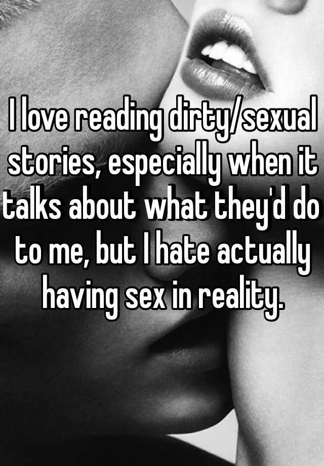 0 Replies. I love telling sexual stories ...