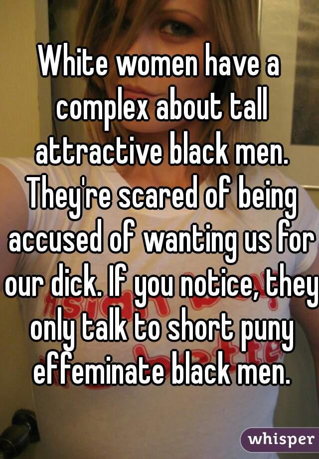 White women talk about black men