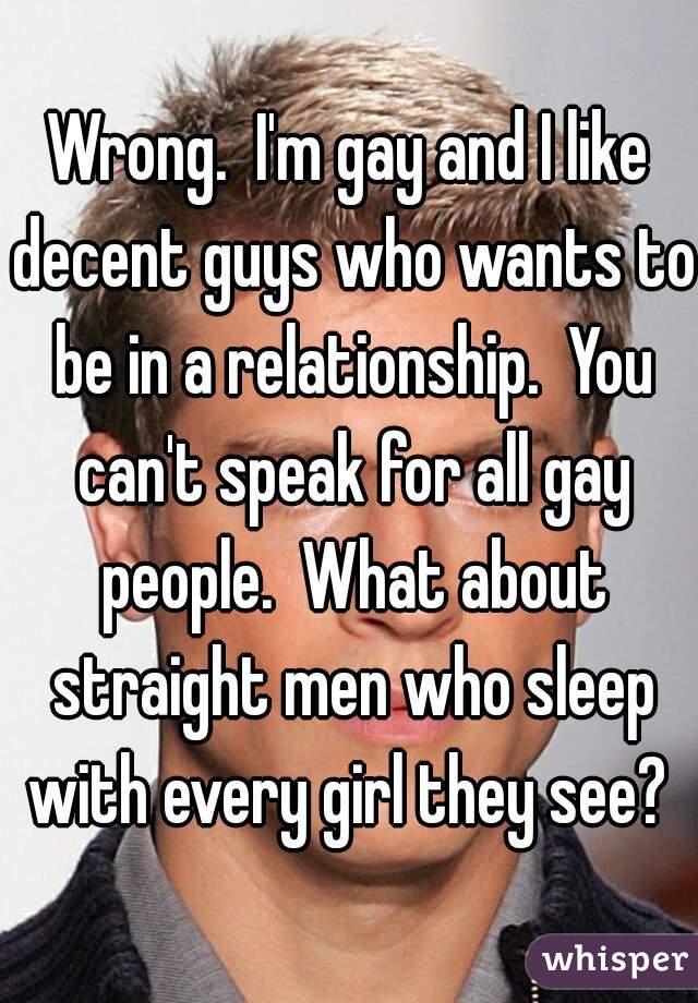 Straight men who sleep with men