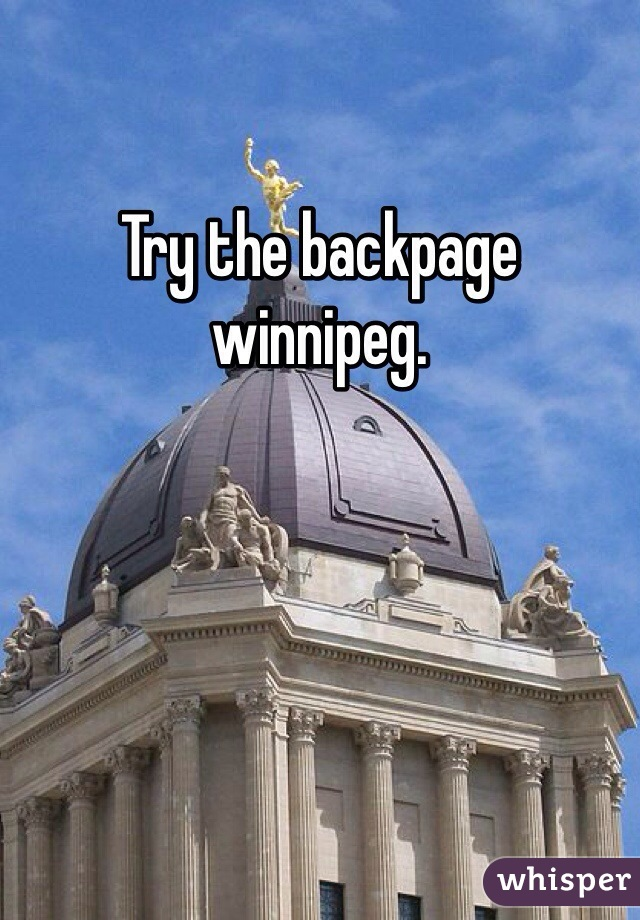 www backpage com winnipeg
