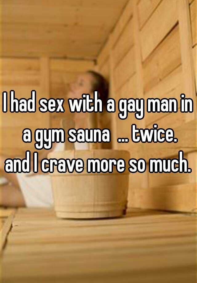 Gym sauna sex