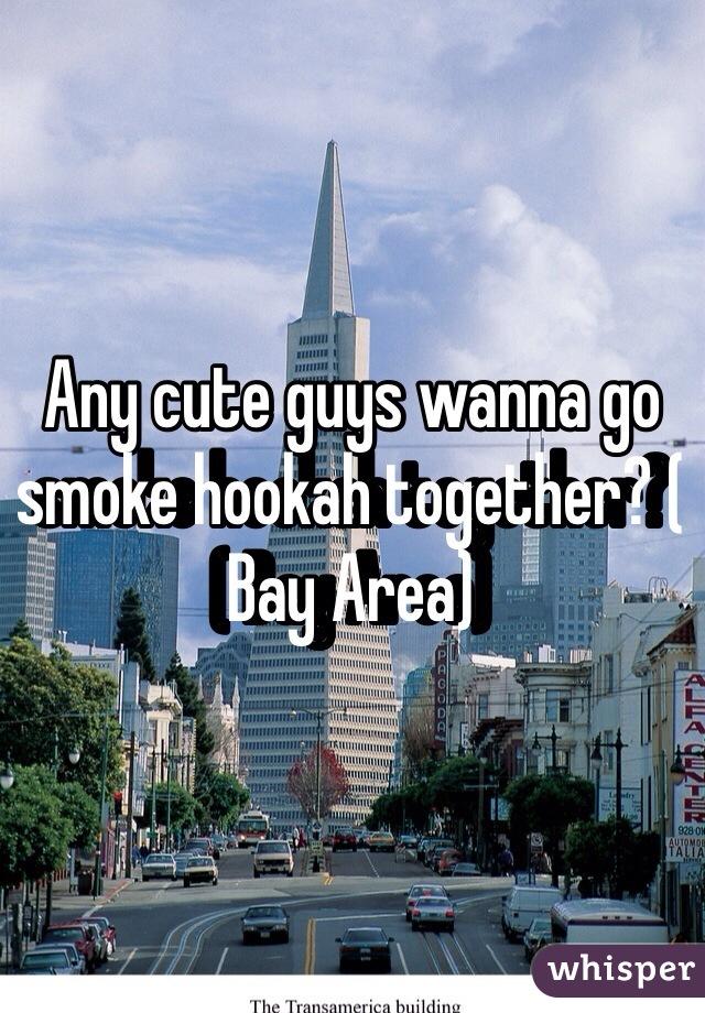 Any cute guys wanna go smoke hookah together? ( Bay Area)
