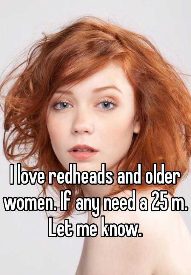 Love redheads