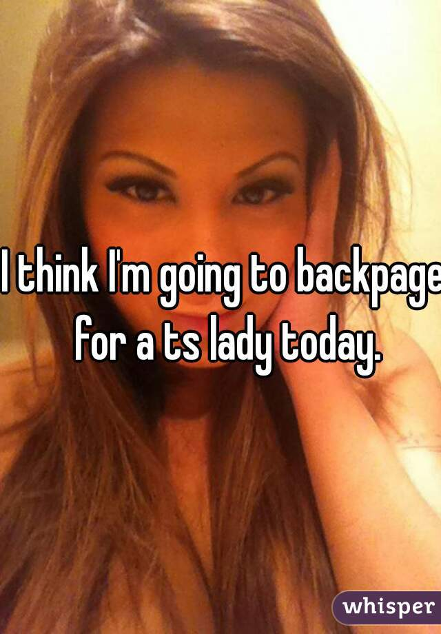 Ts on backpage