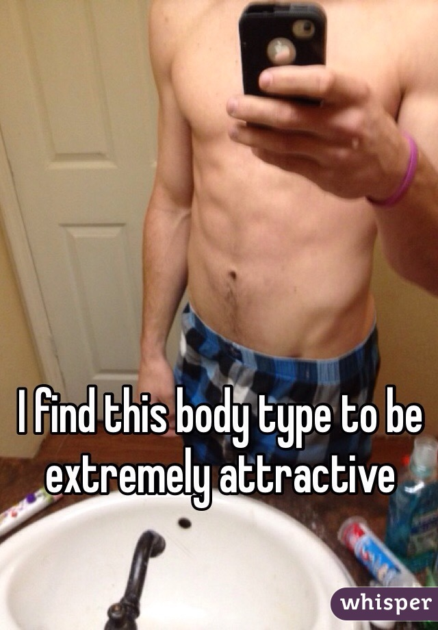 I find this body type to be extremely attractive