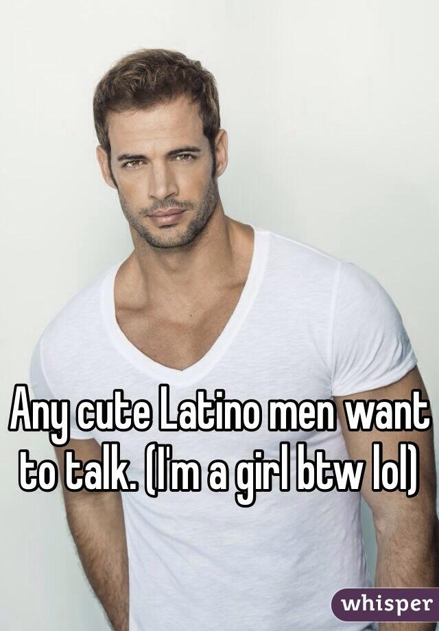 Cute latino men