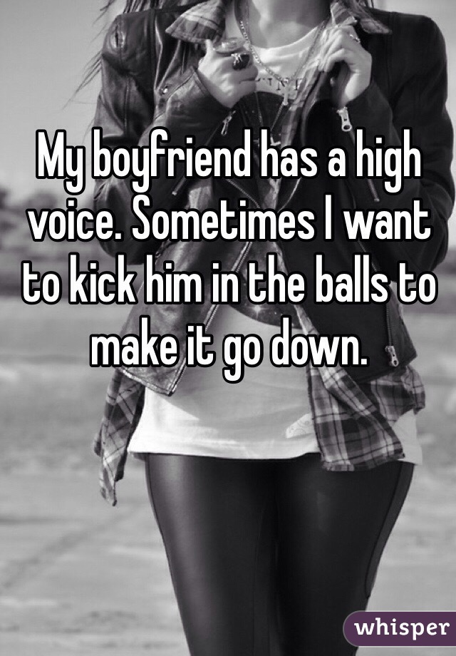 I Want To Kick A Guy In The Balls