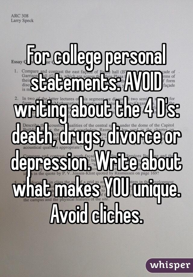 What makes you unique college essay