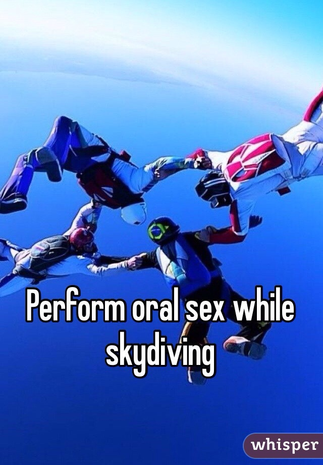 Sex while skydiving Nude Photos 54