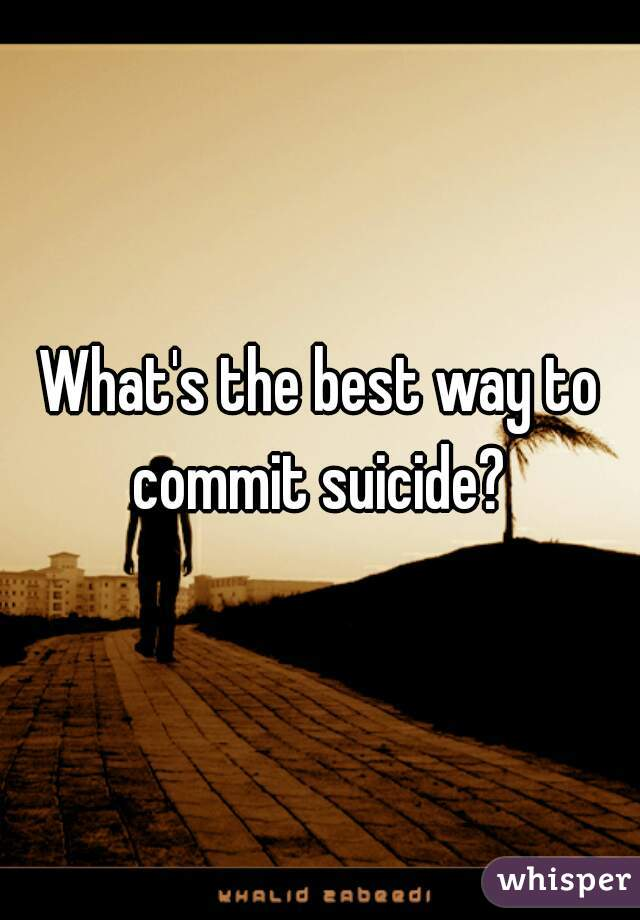 what is the best way to commit s