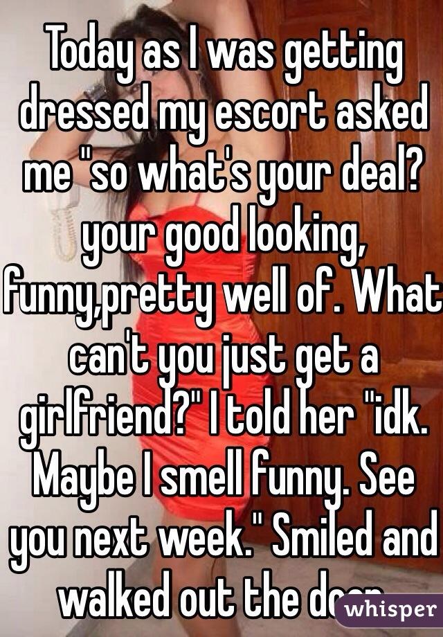 is my girlfriend an escort