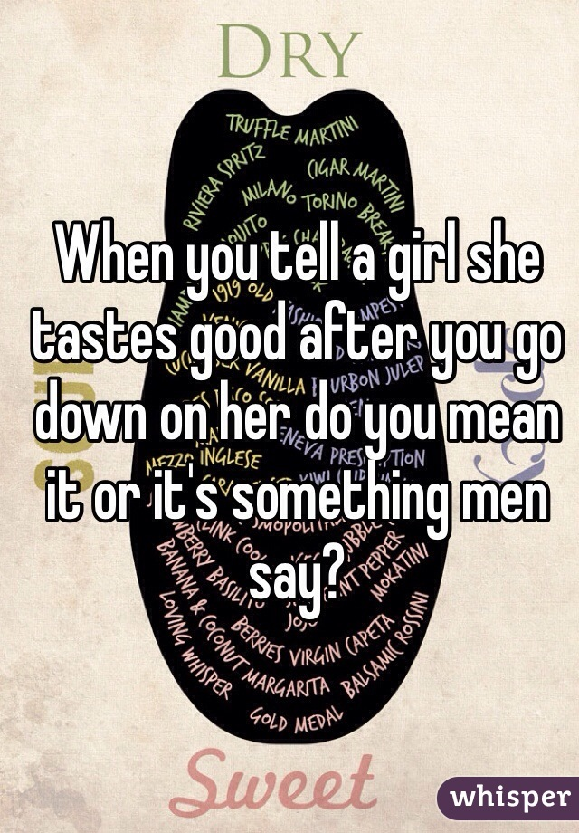 Something Good To Tell A Girl