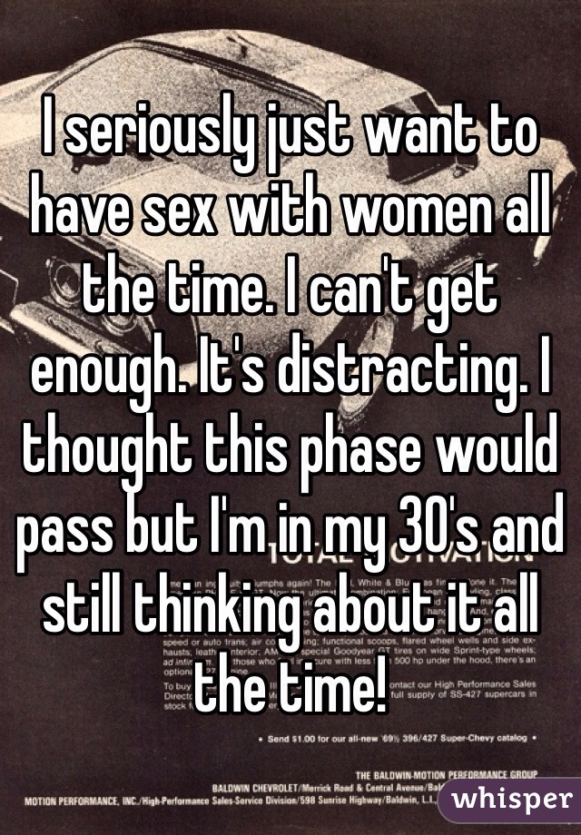 Women that want sex all the time