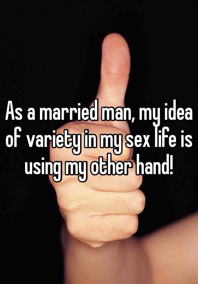 Married life without sex