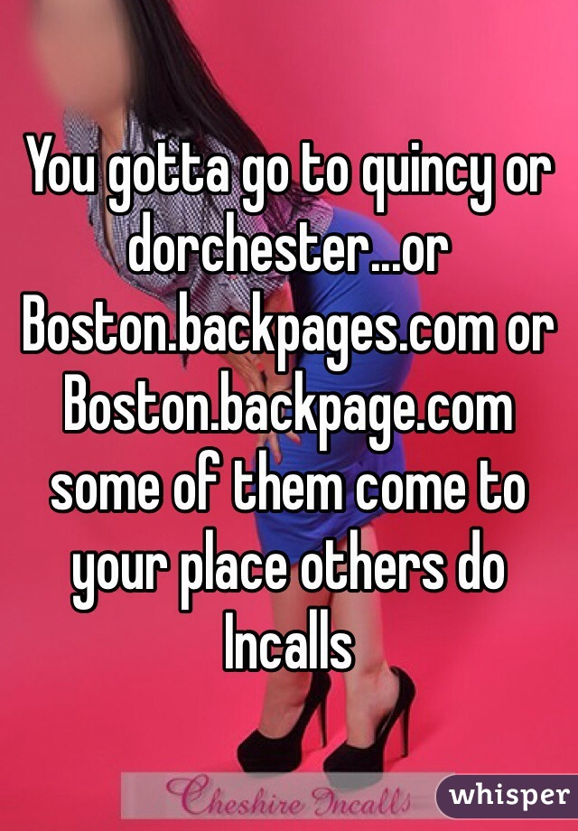 Backpage quincy