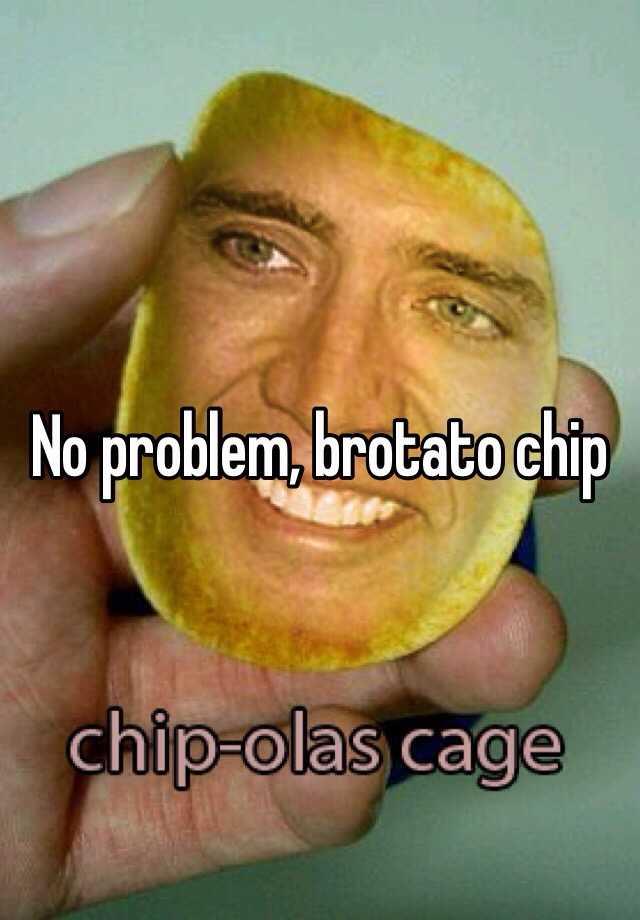 No Problem Brotato Chip