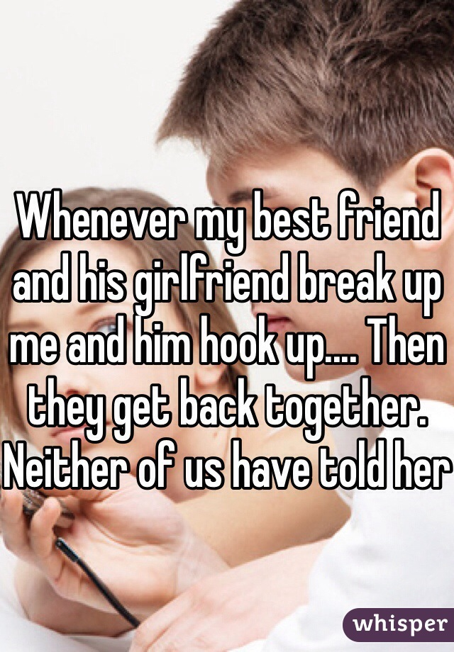 I want to hook up with my best girlfriend