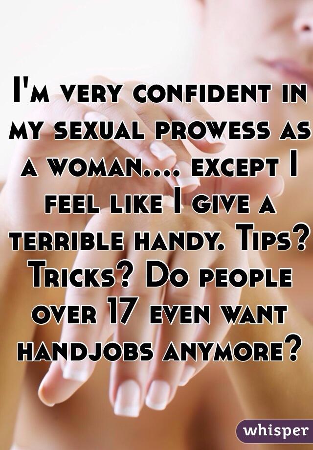 Confirm. do women like hand jobs