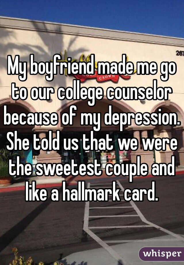 my boyfriend and i go to different colleges