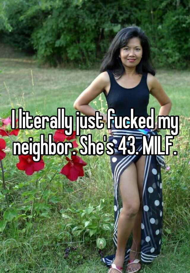 My milf summer neighbor