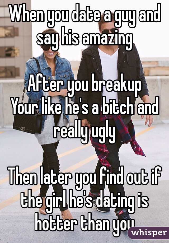 Dating a guy after his breakup