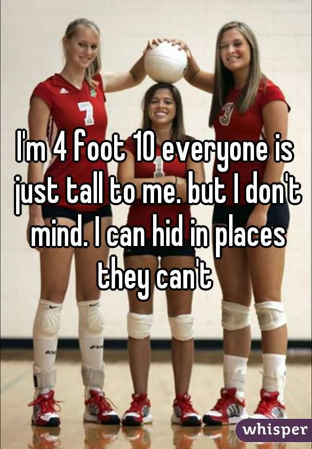 4 Foot girl seems