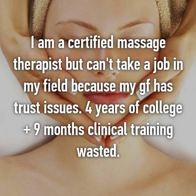 Massage therapist horror stories