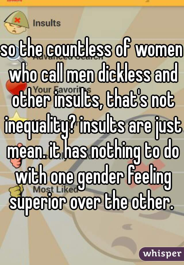 Why Do Men Insult Women They Like