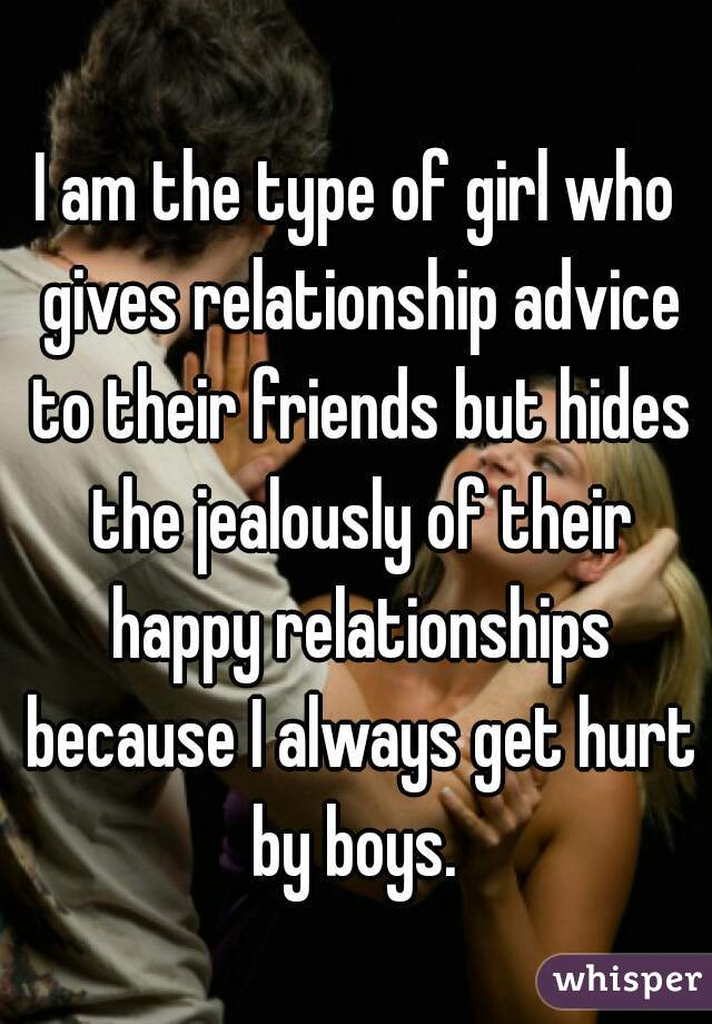 girl gives relationship advice
