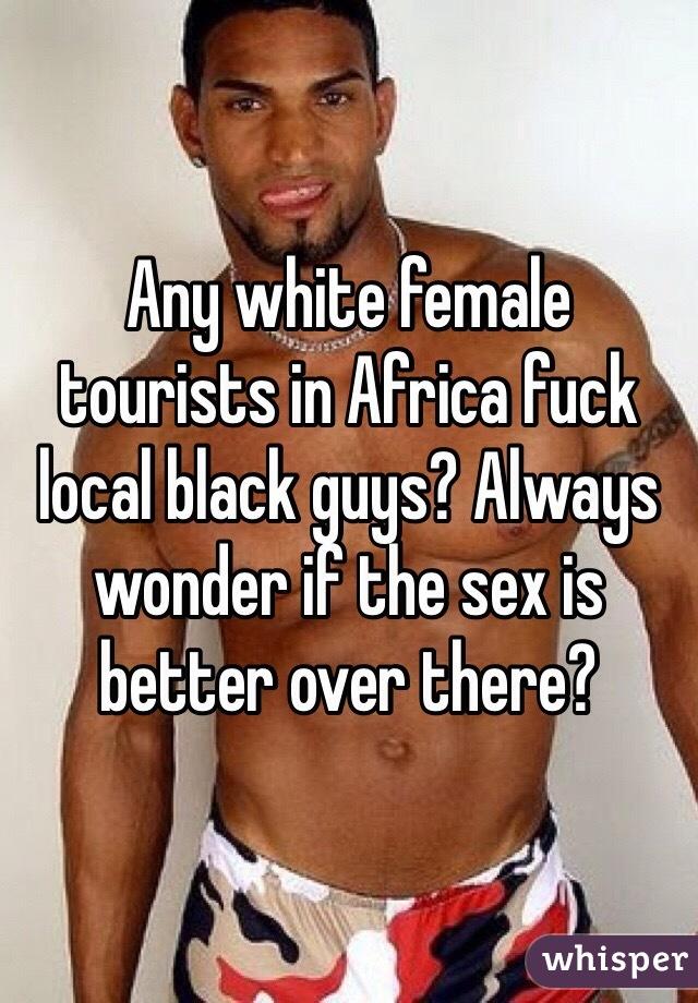 Local black fuck