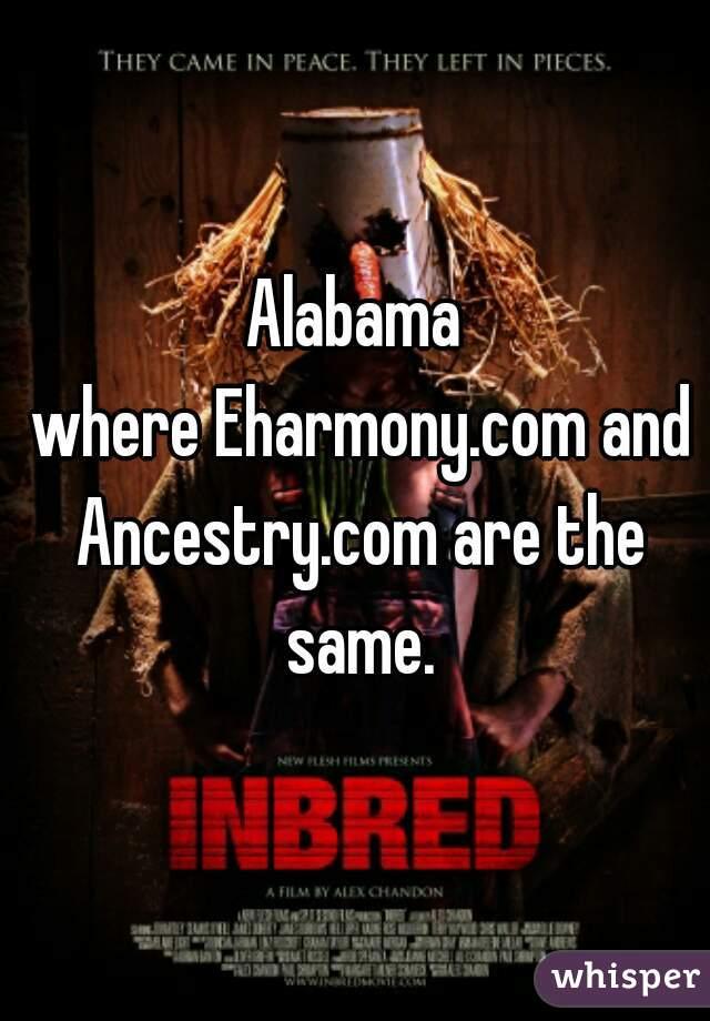 Alabama ancestry eharmony