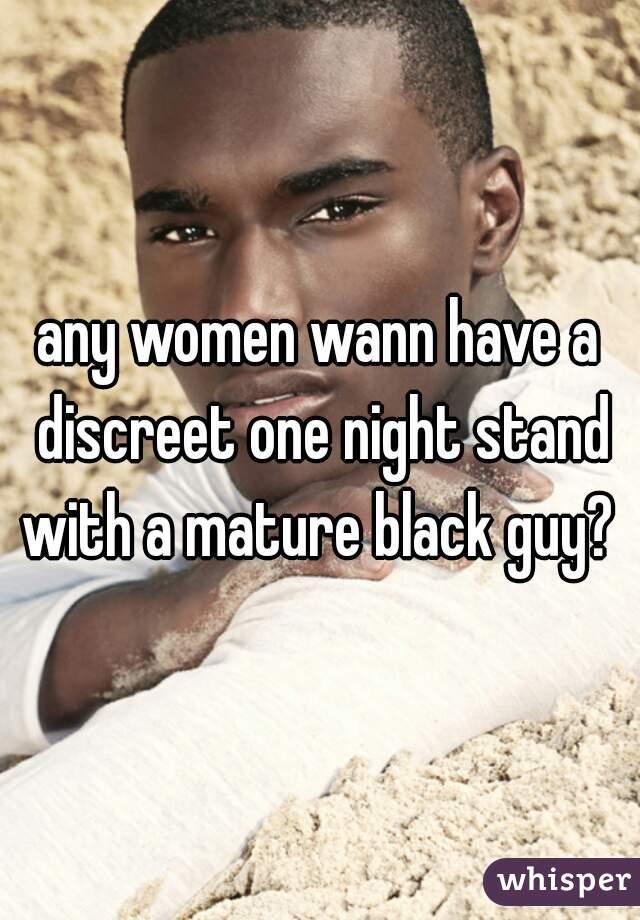 Black guy mature woman