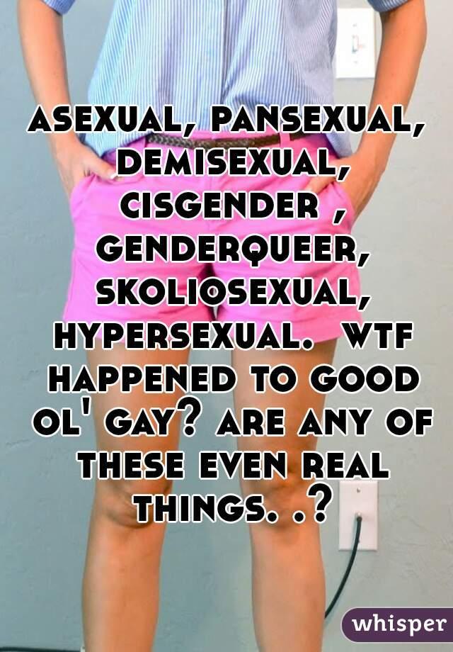 Skoliosexual vs pansexual