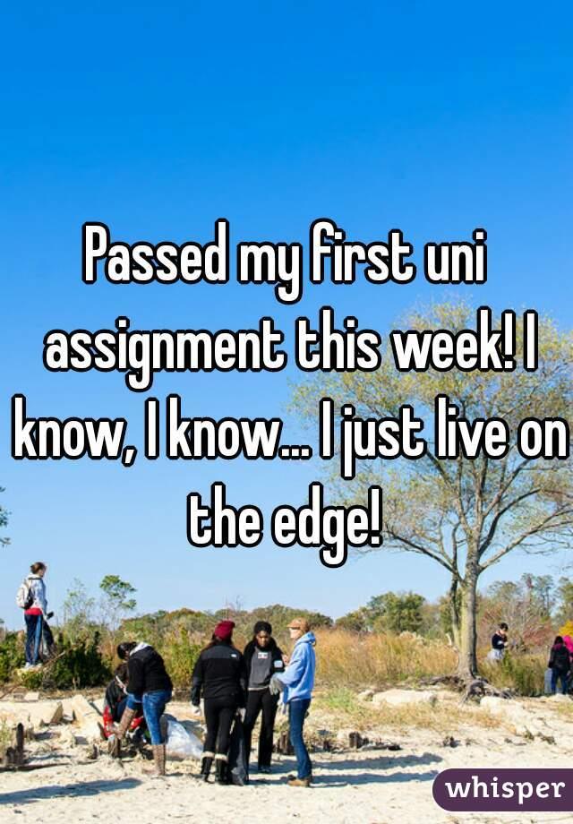 uni assignment