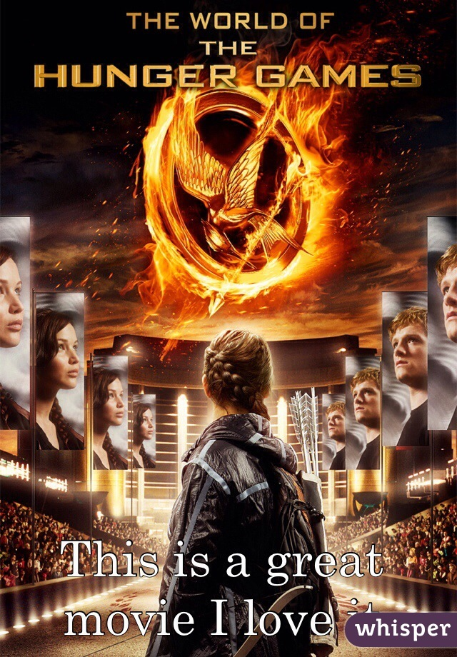 This is a great movie I love it