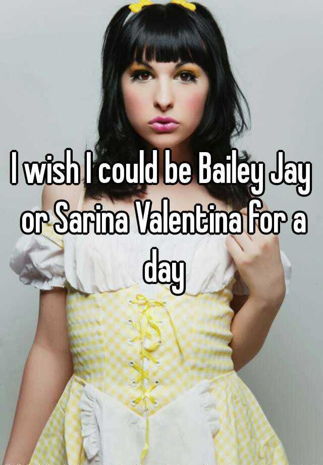 Bailey jay and sarina valentina