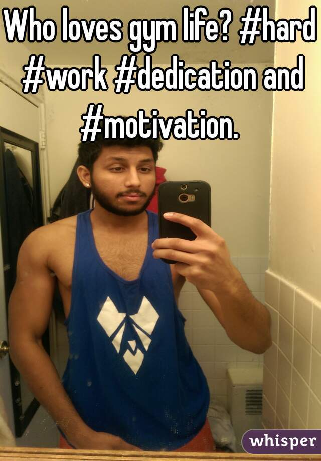 Who loves gym life? #hard #work #dedication and #motivation.