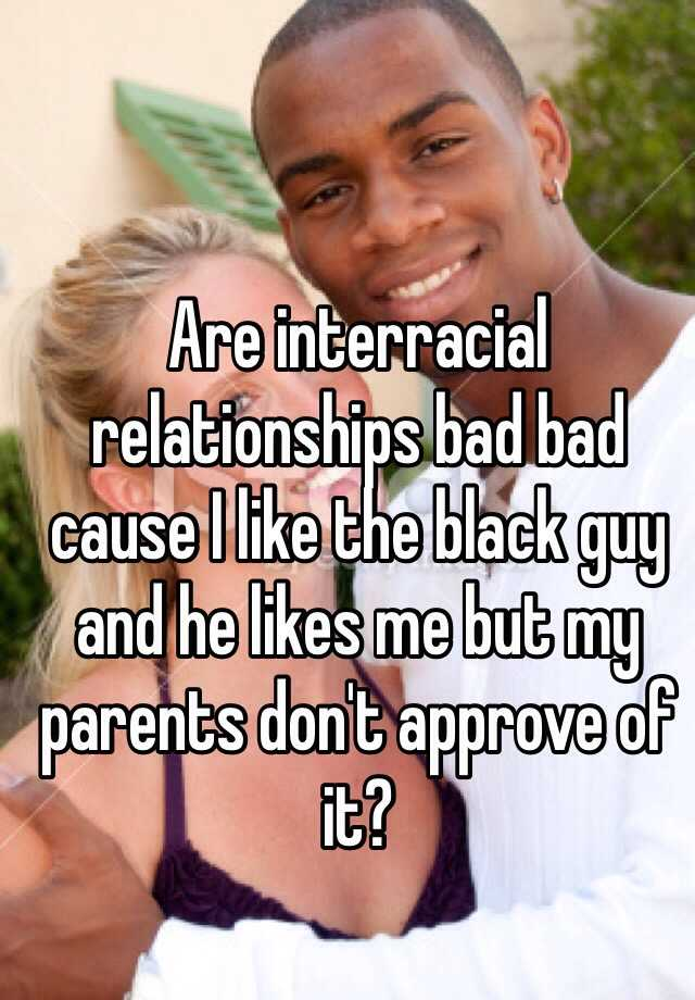 why are interracial relationships bad
