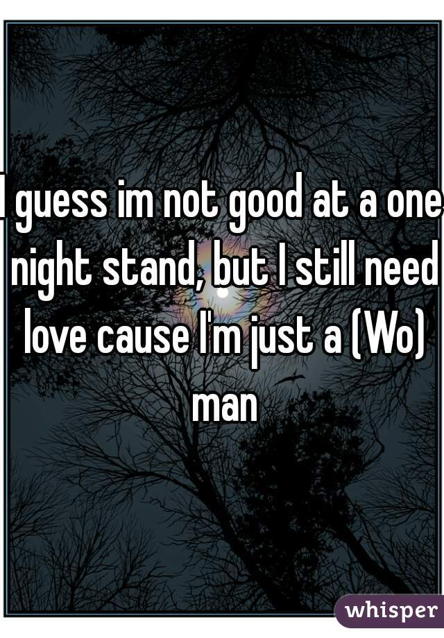 wo one night stand